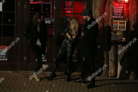 Editorial image of 'The Only Way is Essex' TV show filming, London, UK - 16 Oct 2019