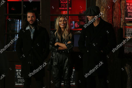 Editorial photo of 'The Only Way is Essex' TV show filming, London, UK - 16 Oct 2019