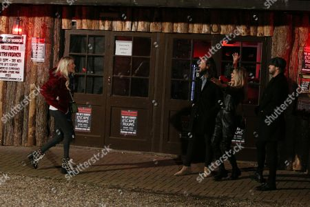 Editorial picture of 'The Only Way is Essex' TV show filming, London, UK - 16 Oct 2019
