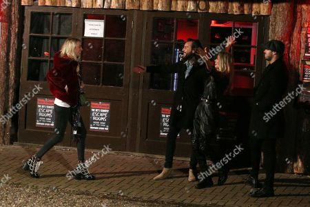 Stock Picture of Olivia Attwood, Peter Wicks, James Lock and Chloe Sims