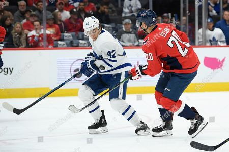 Editorial image of Maple Leafs Capitals Hockey, Washington, USA - 16 Oct 2019