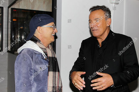 Jimmy Iovine and Bruce Springsteen