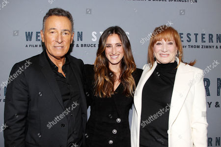 Bruce Springsteen, Jess Springsteen and Patti Scialfa