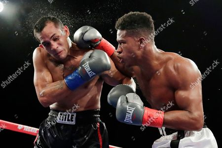 Editorial image of Fighter Dies Boxing, New York, USA - 28 Oct 2018