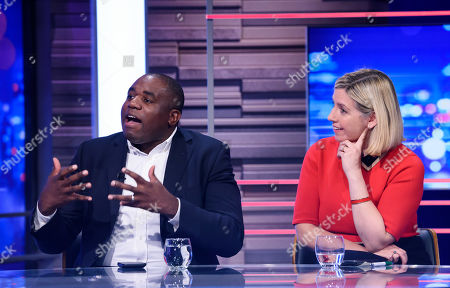 Labour's David Lammy MP and the Conservatives' Andrea Jenkyns MP