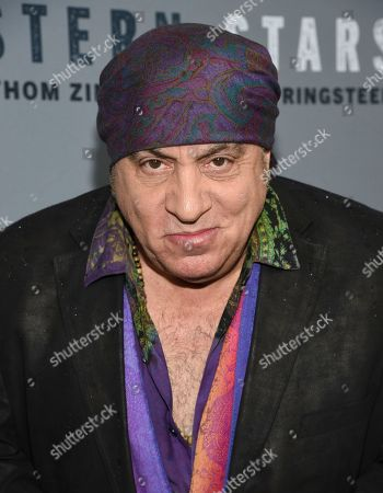 "Steven Van Zandt attends the special screening of ""Western Stars"" at Metrograph, in New York"