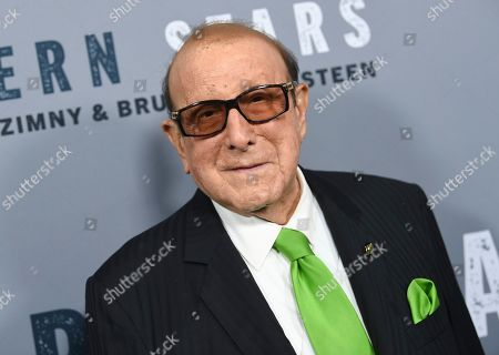 """Stock Image of Music producer Clive Davis attends the special screening of """"Western Stars"""" at Metrograph, in New York"""