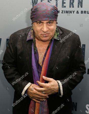 Steven Van Zandt attends the New York special screening of the documentary film 'Western Stars' at the Metrograph Theatre in New York, New York, USA, 16 October 2019.