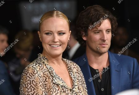 "Malin Akerman, Jack Donnelly. Malin Akerman, left, and Jack Donnelly arrive at the Los Angeles premiere of ""Living With Yourself"", at ArcLight Hollywood"