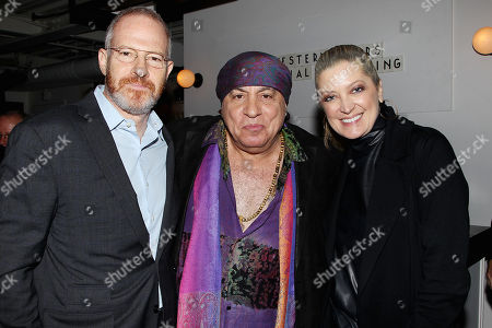Stock Photo of Toby Emmerich, Steven Van Zandt and Carolyn Blackwood