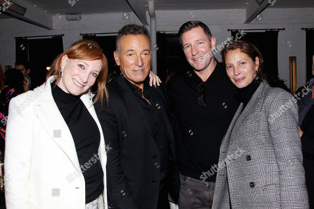 Patti Scialfa, Bruce Springsteen, Edward Burns, Christy Turlington