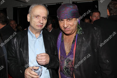 Stock Image of David Chase and Steven Van Zandt