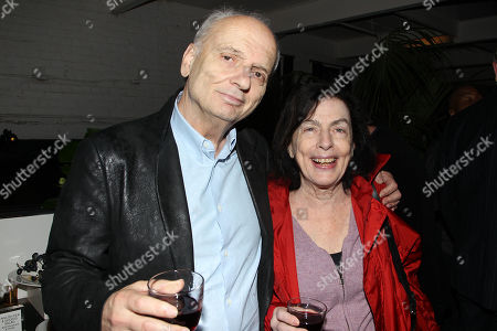 David Chase and Wife