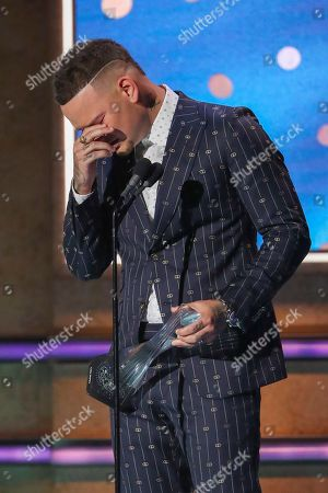 Kane Brown receives Artist of the Year Award at 2019 CMT Artists of the Year at Schermerhorn Symphony Center, in Nashville, Tenn