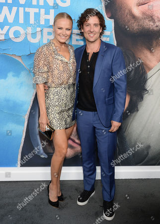 Stock Image of Malin Akerman and husband Jack Donnelly