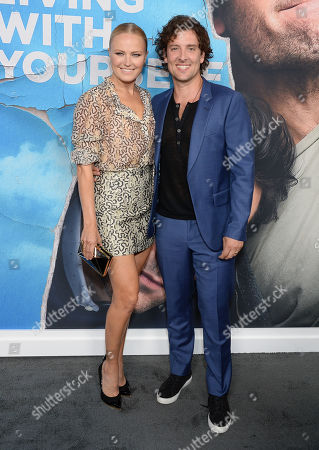 Malin Akerman and husband Jack Donnelly