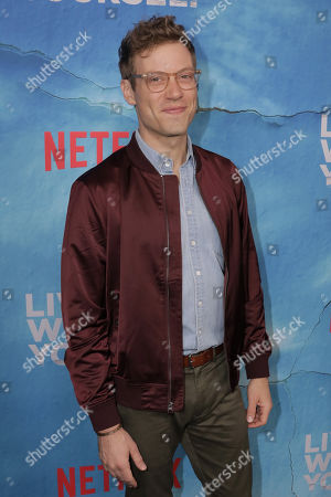 Barrett Foa poses on the red carpet during the premiere of Netflix new series 'Living With Yourself', at the ArcLight Hollywood cinema in Los Angeles, California, USA, 16 October 2019. The series will air on Netflix on 18 October 2019.