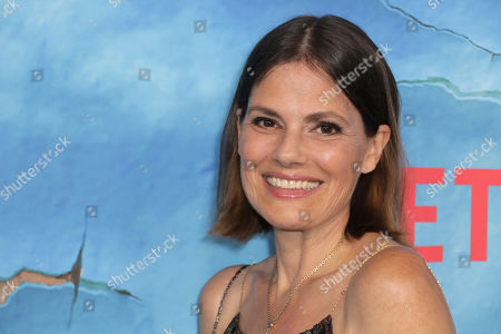 Suzanne Cryer poses on the red carpet during the premiere of Netflix new series 'Living With Yourself', at the ArcLight Hollywood cinema in Los Angeles, California, USA, 16 October 2019. The series will air on Netflix on 18 October 2019.