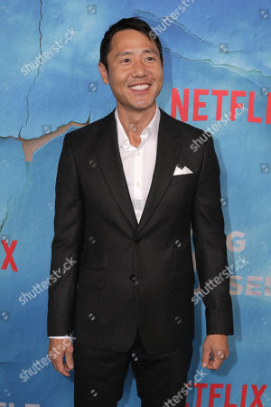 Rob Yang poses on the red carpet during the premiere of Netflix new series 'Living With Yourself', at the ArcLight Hollywood cinema in Los Angeles, California, USA, 16 October 2019. The series will air on Netflix on 18 October 2019.