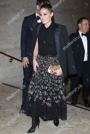Editorial image of American Ballet Theatre Fall Gala, Arrivals, New York, USA - 16 Oct 2019