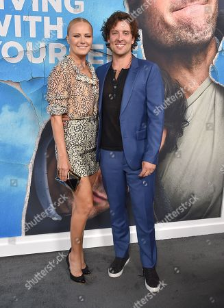 Stock Photo of Malin Akerman and Jack Donnelly