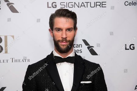 James Whiteside attends the American Ballet Theatre Fall Gala at the David H. Koch Theater, in New York