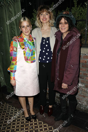 Rachel Antonoff, Imogen Poots and Amy Heckerling