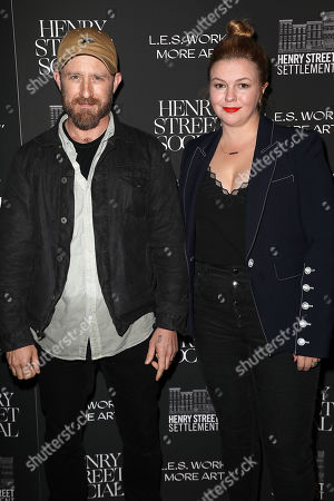 Ben Foster and Amber Tamblyn