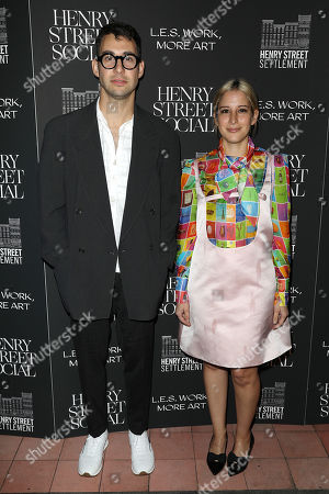 Stock Photo of Jack Antonoff and Rachel Antonoff