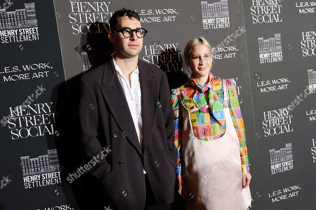 Stock Photo of Jack Antonoff and Rachel Antonoff