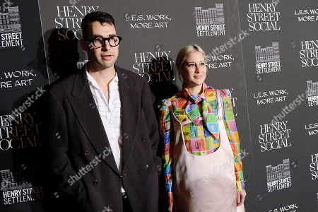 Stock Picture of Jack Antonoff and Rachel Antonoff