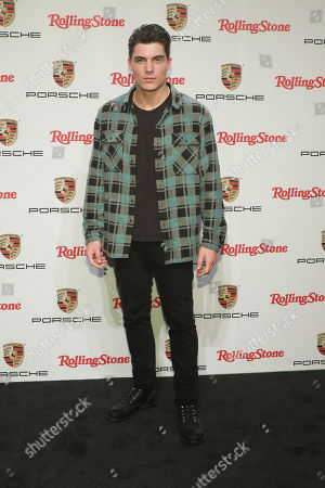 "Zane Holtz attends the Rolling Stone and Porsche ""911 Experience"" launch event at Terminal 5, in New York"