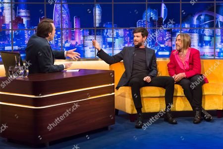 Stock Photo of Jonathan Ross, Iggy Pop, Jack Whitehall,