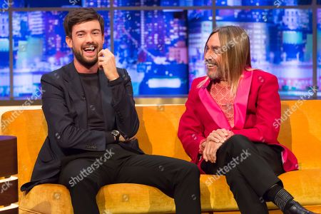 Stock Image of Jack Whitehall, Iggy Pop