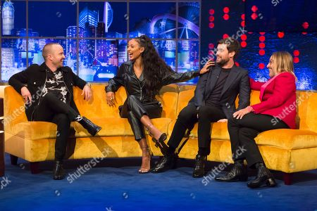 Stock Picture of Aaron Paul, Maya Jama, Jack Whitehall, Iggy Pop