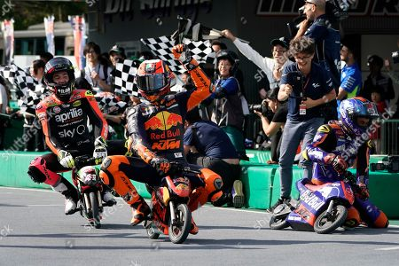 Editorial picture of Mini moto racing event ahead of Japan Motorcycling Grand Prix, Motegi - 17 Oct 2019