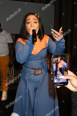 Editorial photo of Vina Love video release party, New York, USA - 16 Oct 2019