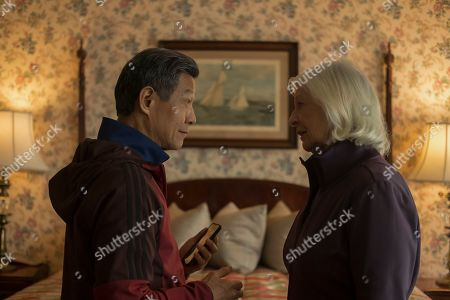 James Saito as Kenji and Jane Alexander as Margot