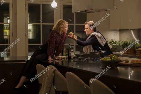 Julia Garner as Maddy and Shea Whigham as Peter