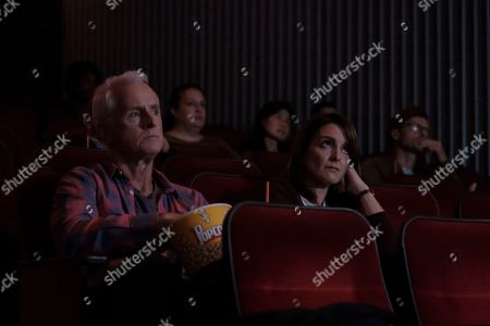 Stock Picture of John Slattery as Dennis and Tina Fey as Sarah
