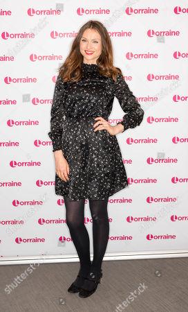 Editorial photo of 'Lorraine' TV show, London, UK - 17 Oct 2019