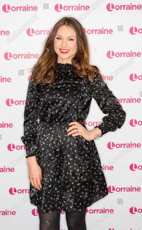 Editorial image of 'Lorraine' TV show, London, UK - 17 Oct 2019