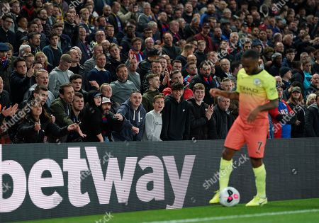Editorial image of Crystal Palace v Manchester City, Premier League, Football, Selhurst Park, London, UK - 19 Oct 2019