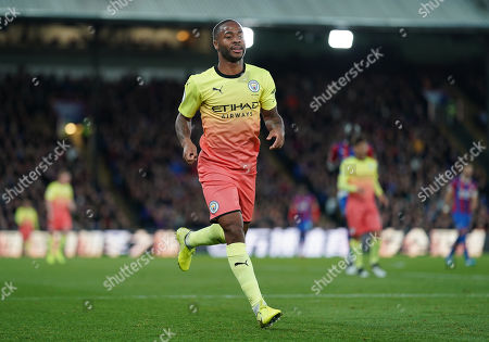 Stock Picture of Raheem Sterling of Manchester City