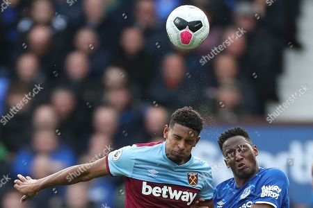 Editorial photo of Everton v West Ham United, Premier League, Football, Goodison Park, Liverpool, UK - 19 Oct 2019