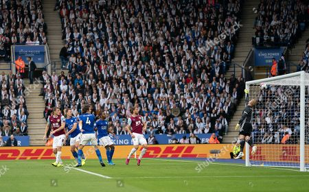 Editorial photo of Leicester City v Burnley, Premier League, Football, King Power Stadium, Leicester, UK - 19 Oct 2019