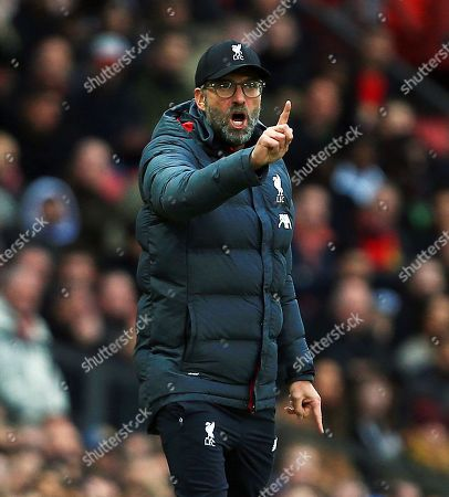 Liverpool manager Jurgen Klopp points