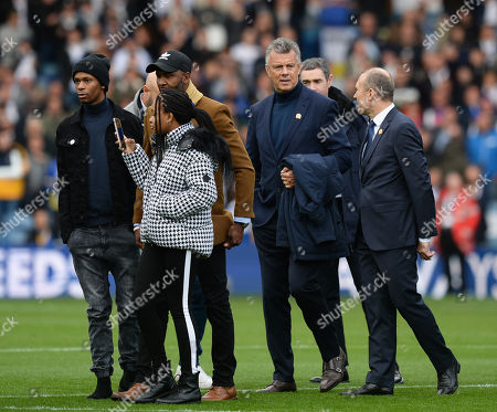 Stock Photo of David O?Leary joins the ?Legends? for Leeds United Centenary celebrations