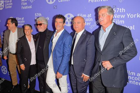 Editorial image of 'Pain and Glory' film premiere, Arrivals, 57th New York Film Festival, New York, USA - 28 Sep 2019