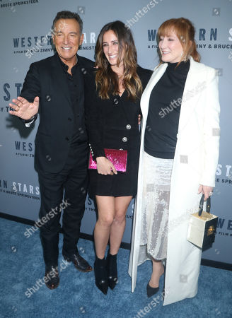 Editorial picture of 'Western Stars' film premiere, Metrograph, New York, USA - 16 Oct 2019